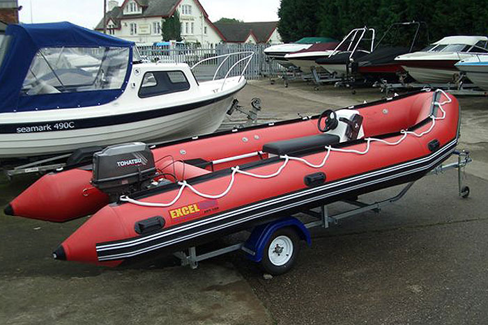 Inflatable Boats: Inflatable Boat Jockey Console